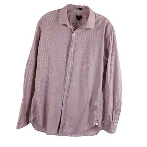 J Crew Ludlow Button Up Shirt Checkered Colalred